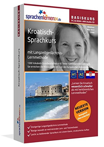 Sprachenlernen24.de Kroatisch-Basis-Sprachkurs: PC CD-ROM für Windows/Linux/Mac OS X + MP3-Audio-CD...