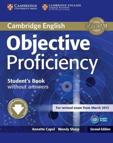 Objective Proficiency Student's Book without Answers with Downloadable Software 2nd Edition...