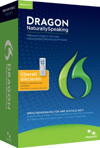 Nuance Dragon Naturally Speaking 12.0 Premium Mobile