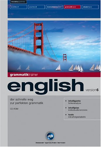 Grammatiktrainer English - Interaktive Sprachreise Version 6