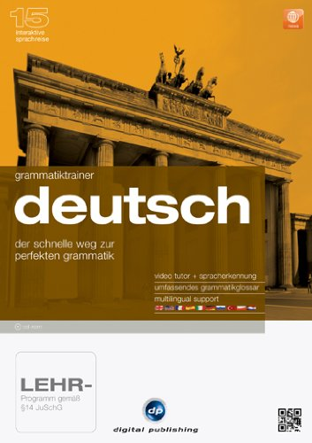 Interaktive Sprachreise 15: Grammatiktrainer Deutsch